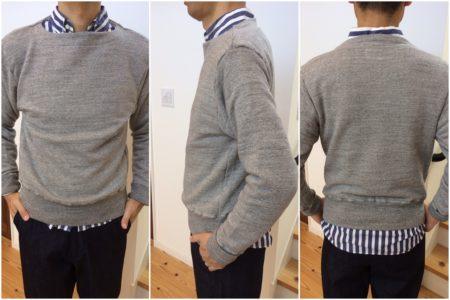 Sweatshirt made in Japan